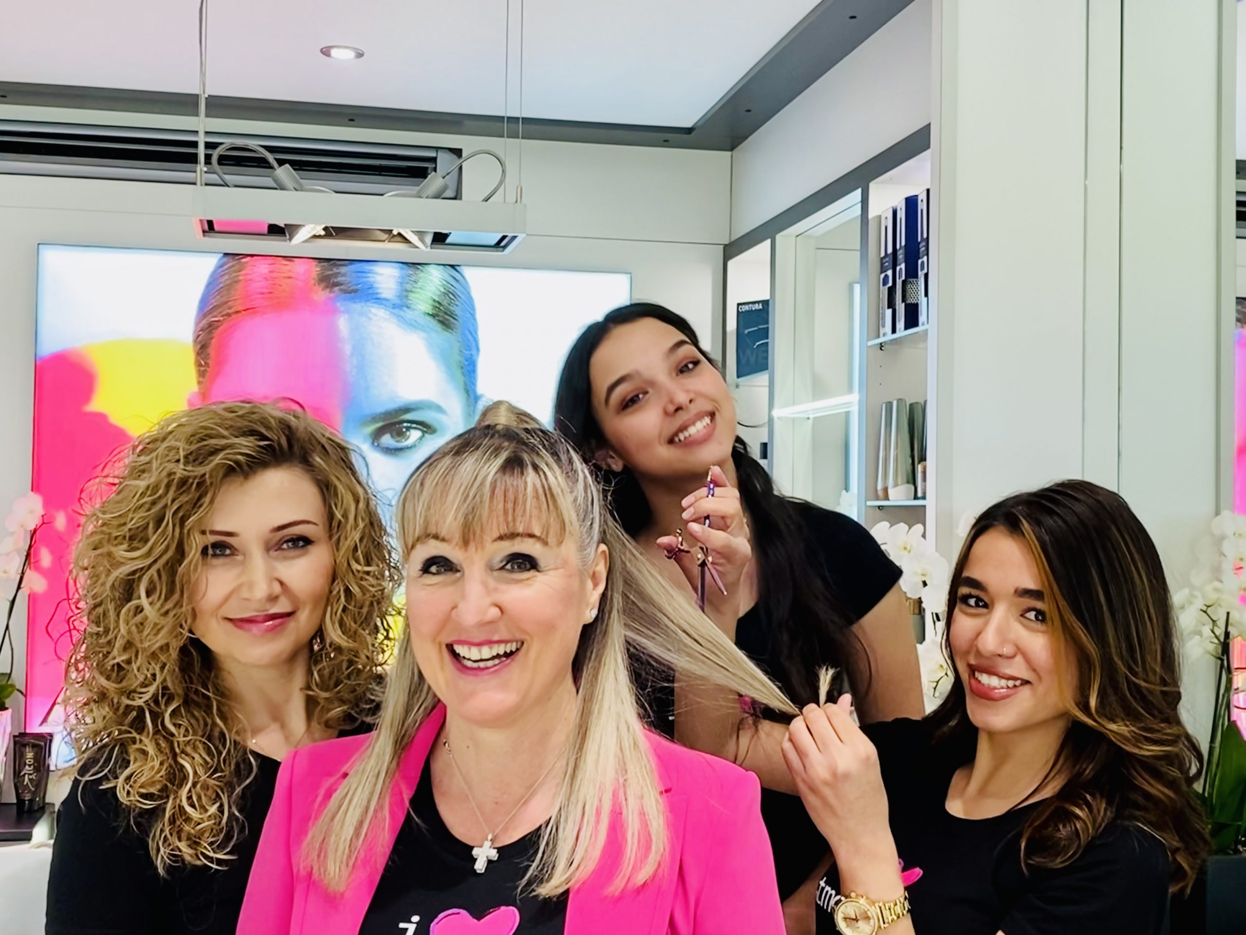 Photo equipe coiffeur Pully